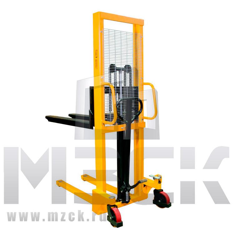 Штабелер гидравлический ручной SMART SBS 1016 (1 т, высота подъема 1600 мм, 1150x520 мм)