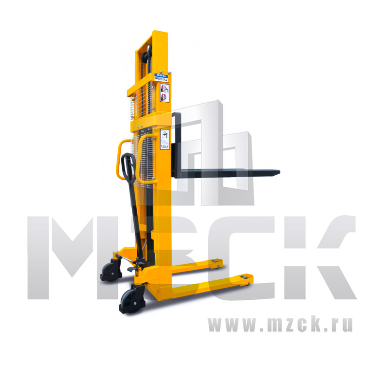 Штабелер гидравлический ручной SMART SDA 1530 (1,5 т, высота подъема 3000 мм, 1150x520 мм)