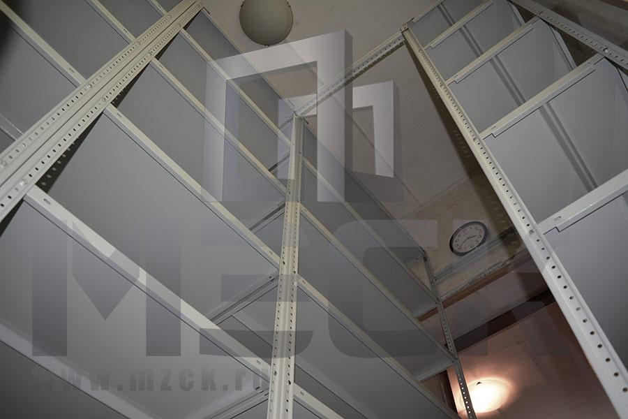 Стеллажи ТС-Лайт в небольшое помещение для хранения документации №2