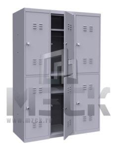 Шкаф для Одежды ШР-24-3 1850x900x500 мм
