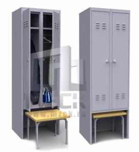 Шкаф для Одежды ШР-22-ВСК 1850x600x500 мм