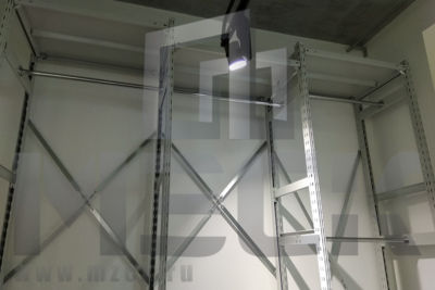 Металлический стеллаж ТСУ для Одежды 2500x1560x600.3п+2ш