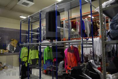 Металлический стеллаж ТСУ для Одежды 2000x1060x500.3п+1ш