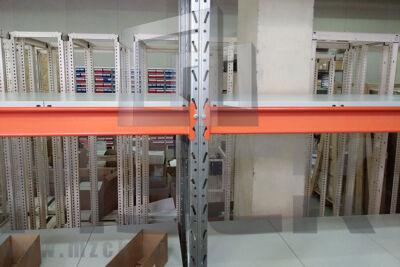 Металлический стеллаж Оптима 2500x1250x785.4.900.М