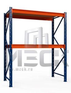 Металлический стеллаж Оптима 2000x1250x785.2.600.Ф