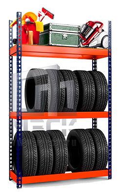 Металлические стеллажи для шин