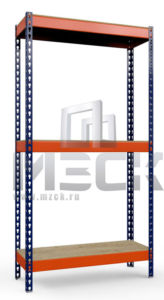 Стеллаж Профи-Т-т130-2000x1265x500.3.350.ф
