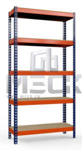 Стеллаж Профи-Т-т160-3000x1540x1005.5.350.ф