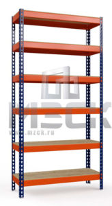 Стеллаж Профи-Т-т140-3000x1540x655.6.350.ф