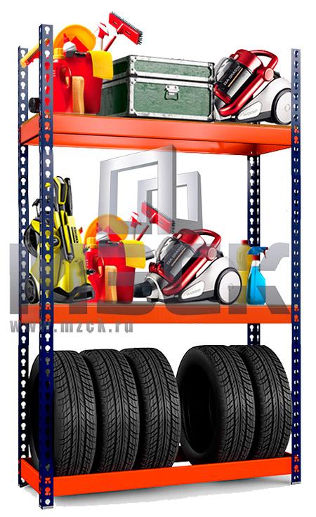 Металлический стеллаж Профи-Т для Шин 2000x1540x500.1к+2п.350