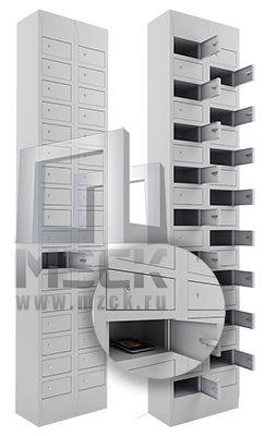 Металлические шкафы для сотовых телефонов
