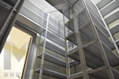 Металлический стеллаж ТС-Лайт 2500x1200x300.5.120