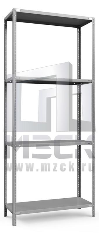 Металлический стеллаж ТС-Лайт 1800x1000x300.4.120