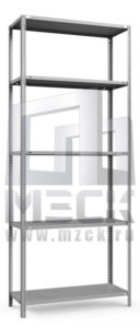 Металлический стеллаж ТС-Лайт 2000x1200x800.5.120