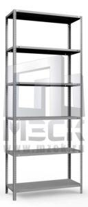 Металлический стеллаж ТС-Лайт 2500x1200x500.6.120