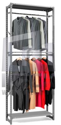 Стеллажи для одежды ТСУ (на полку 150 кг)