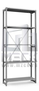 Металлический стеллаж ТСУ 2500x1260x400.5.150