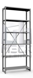 Металлический стеллаж ТСУ 2500x760x500.6.150