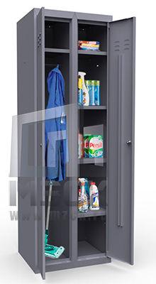 Металлические шкафы для уборочного инвентаря