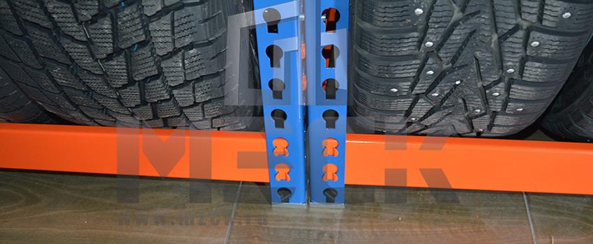 Металлический стеллаж Профи-Т для шин