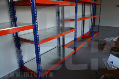 Металлический стеллаж Профи-Т 2000x1265x655.3.350.м
