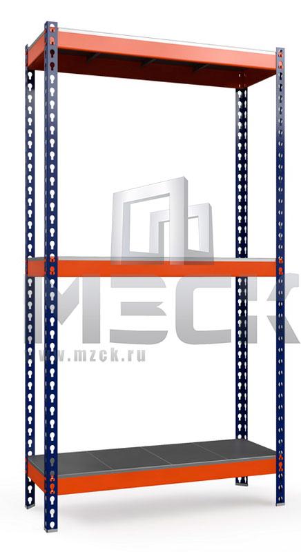 Металлический стеллаж Профи-Т 2000x1265x500.3.350.м