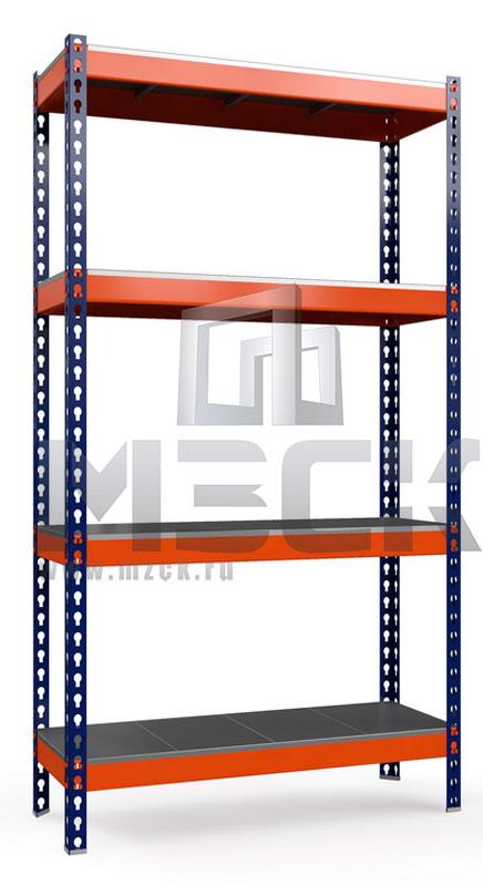 Металлический стеллаж Профи-Т 2000x1540x500.4.350.м