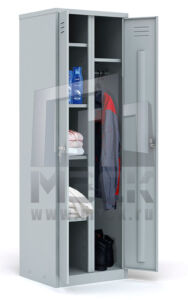 Металлический шкаф для одежды ШРХ-22 L800