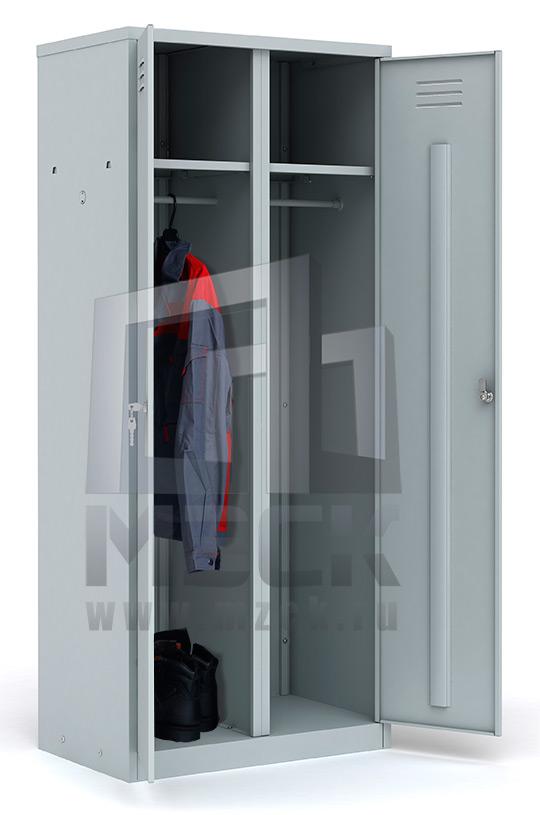 Металлический шкаф для одежды ШР-22 L600