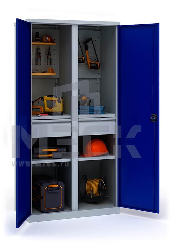 Инструментальный шкаф ИП-2/1 (1860х920х500)