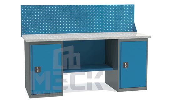 Металлический верстак ВТ2-1.6 (860х1600х685)