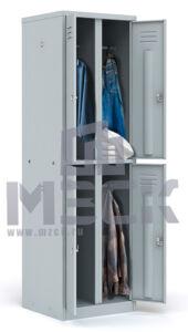 Металлический шкаф для одежды ШРМ- 24 (1860x600x500)