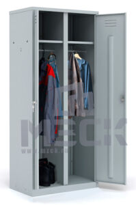 Металлический шкаф для одежды ШРМ-АК800 (1860х800х500)