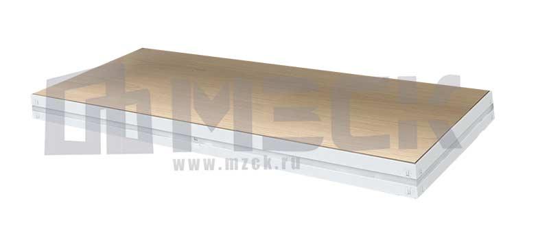 Полка стеллажа МС-Т 1830х608.Ф