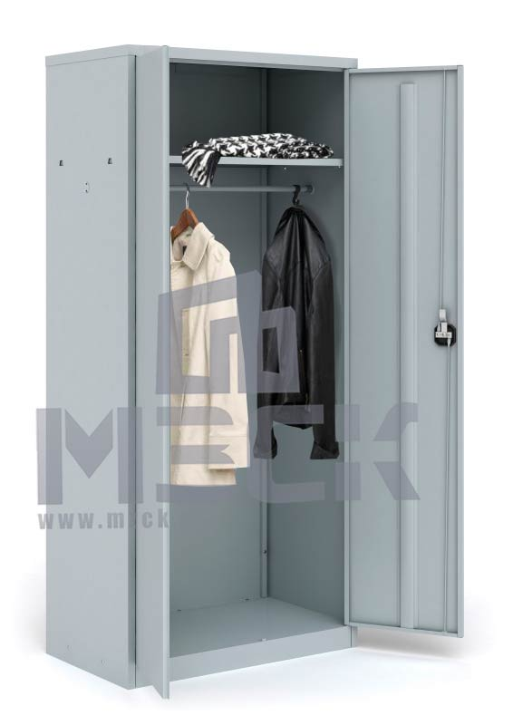 Металлический шкаф для одежды ШАМ-11.Р (1860х850х500)